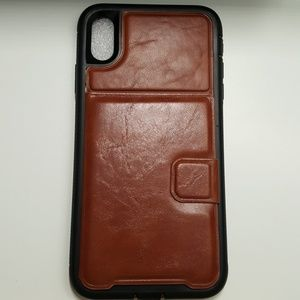 """Case for iphone xs max 6.5"""" color black-brown new"""